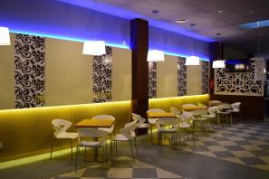Resultado de imagen de decoracion de cafeterias