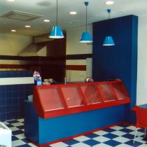 Resultado de imagen de decoracion de pizzerias